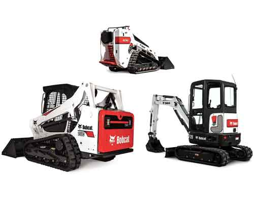 Skid-Steers Excavators Track Loaders