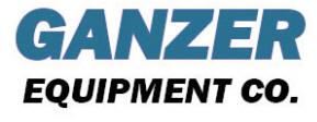 Ganzer Equipment Company Logo
