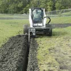 Bobcat Trencher Attachment