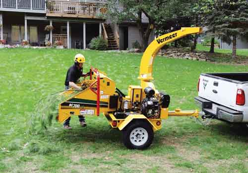 "Vermeer BC700XL 6"" Chippers"