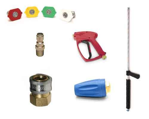 Nozzles, Trigger Guns, Wands, Turbo Nozzles, Quick Couplers
