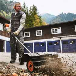 Stihl Power Brooms for Rent