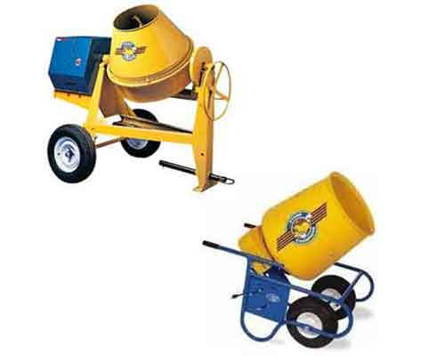 Concrete Mixers for Rental
