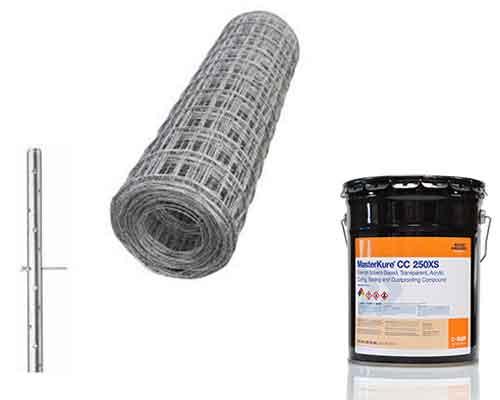 Concrete Wire, Concrete Sealer, Nail Stakes