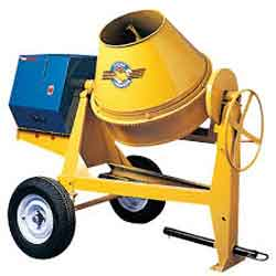 Tow Behind 6 cu ft Concrete Mixers