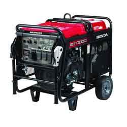 Honda EB10000 Construction Generator with Carbon Monoxide Detection