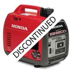 Honda EB2200i Generator has been replaced