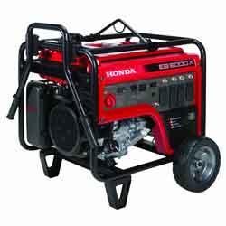 Honda EB5000 Generator with CO detection