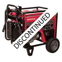 Honda EM5000S Generator has been replaced