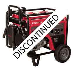 Honda EM6500S Generator has been replaced
