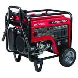 Honda EM6500SX Generator with Carbon Monoxide Detection