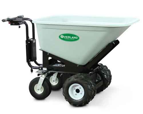 Self-Propelled Battery Powered Wheelbarrow